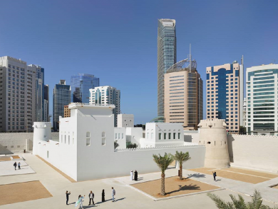 Two free things to do in Abu Dhabi today: Visit Qasr Al Hosn and embrace art at Warehouse 421