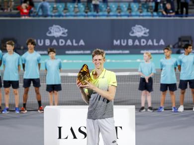 Kevin Anderson on beating Nadal and Djokovic to Mubadala World Tennis Championship glory