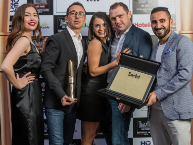 Time Out Abu Dhabi Restaurant Awards 2018 - the winners