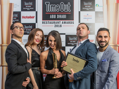In pictures: Time Out Abu Dhabi's Restaurant Awards 2018 – the winners