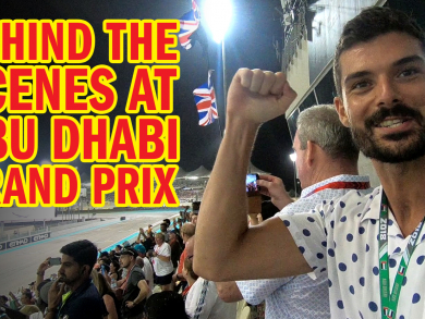 Celebs, music, racecars and yachts… Behind the scenes at Abu Dhabi's Formula 1