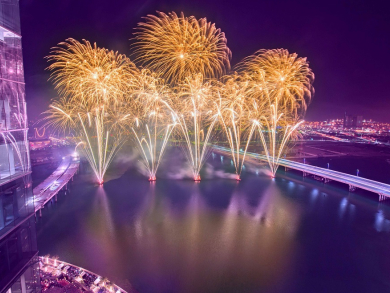 New Year's Eve fireworks in Abu Dhabi set to break world record