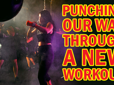 Working up a sweat at PUNCH Abu Dhabi