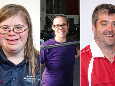 The athletes at Special Olympics World Games Abu Dhabi 2019