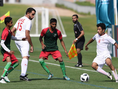 Find out who's playing in the Special Olympics football tournament