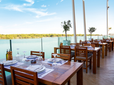 The best places to brunch outside in Abu Dhabi