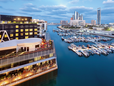 The outdoor bars in Abu Dhabi with incredible views