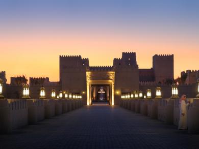 In pictures: Abu Dhabi's Qasr Al Sarab Desert Resort