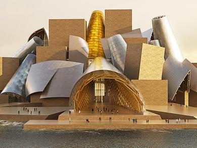 When will Guggenheim Abu Dhabi open on Saadiyat Island?
