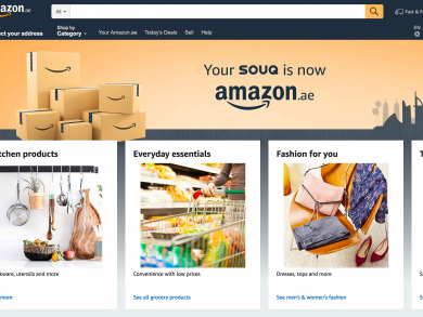 Amazon.ae has officially launched in Abu Dhabi