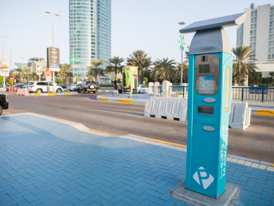 New rules for parking tickets in Abu Dhabi