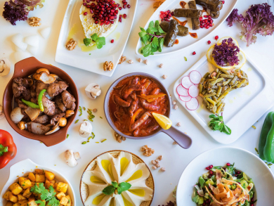 This is where you can find the best mezze in Abu Dhabi