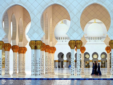 Two free things to do in Abu Dhabi today: Catch a classic film and marvel at the Grand Mosque