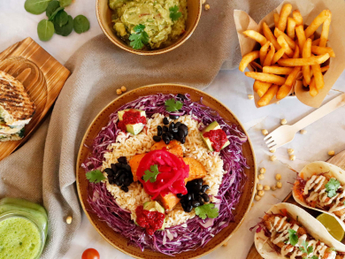 Your complete guide to getting great vegan food in Abu Dhabi