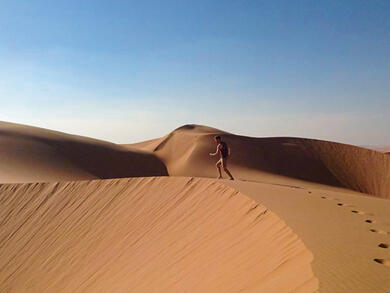 Two free things to do in Abu Dhabi today: Conquer the Moreeb Dune and cycle in Al Wathba