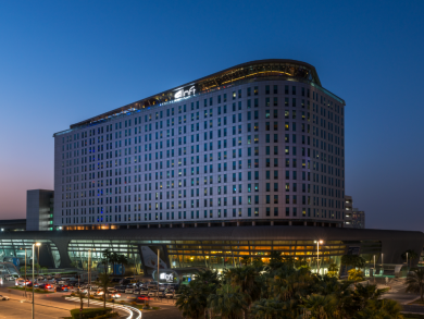 Enjoy a free barbecue meal when you book into this Abu Dhabi hotel