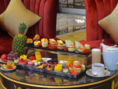 Summer afternoon tea deal launched at The St. Regis Abu Dhabi