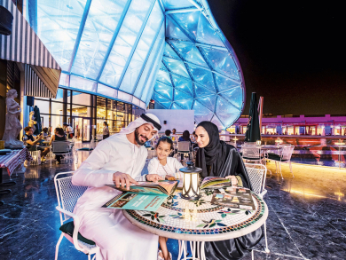 Free kids meals at Cascade Dining during Eid al-Fitr