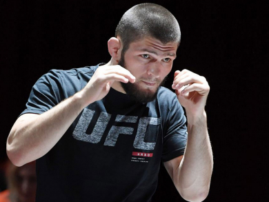 You can see Khabib and Poirier train for free in Abu Dhabi this week