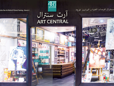 Here's where you can buy some amazing art in Abu Dhabi