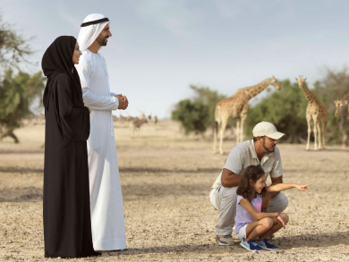 Kids can stay and eat for free on Sir Bani Yas Island