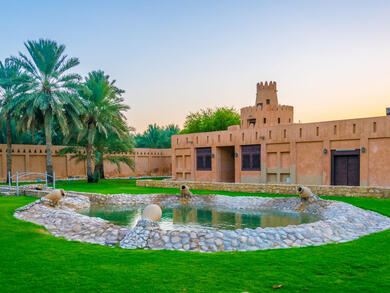 Two free things to do in Abu Dhabi today: Explore Al Ain Palace and play around Khalifa Park