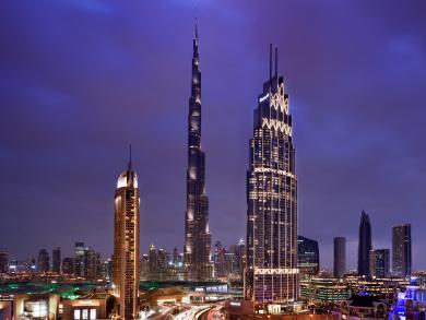Three extravagant staycations in Dubai