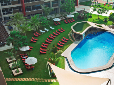 Enjoy a relaxing staycation in Abu Dhabi for less than Dhs350