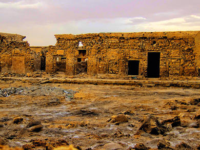 Where to explore a deserted village in the UAE