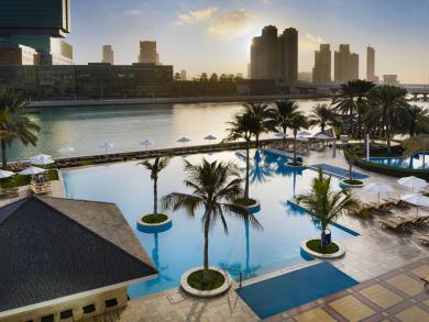 Pool deal of the day: the Beach Rotana Abu Dhabi