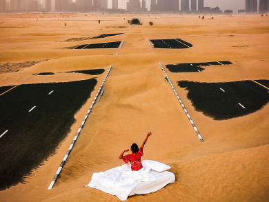 Two free things to do in Abu Dhabi today: Brilliant photography and a free workout