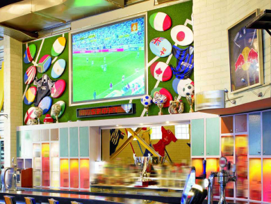 These are the 10 best sports bars in Abu Dhabi
