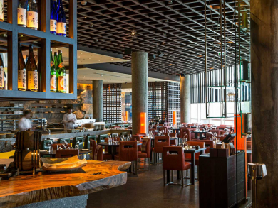 The ten best restaurant bars in Abu Dhabi