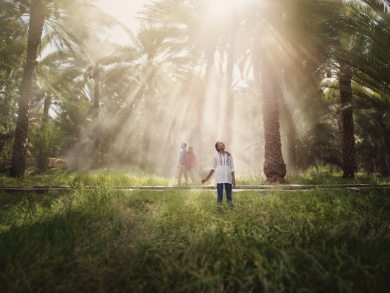 Two free things to do in Abu Dhabi today: Explore an oasis and get into shape