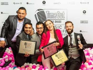 In pictures: Time Out Abu Dhabi Music and Nightlife Awards 2019 - the winners' ball pit