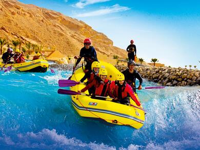 Kids go free at Wadi Adventure in Al Ain this summer