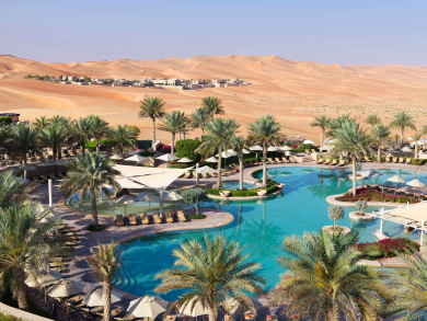 This Abu Dhabi desert resort has a special summer villa offer from Dhs1,999