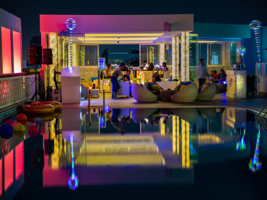 Get drinks for Dhs1 at Abu Dhabi's Level Lounge