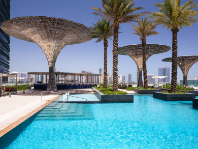 Rosewood Abu Dhabi just added free pool access to its brunch