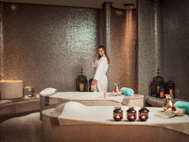 Grab your Abu Dhabi bestie for a daycation including a meal, spa treatment and pool access