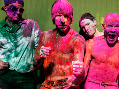 You can now buy tickets for Red Hot Chili Peppers' Abu Dhabi gig