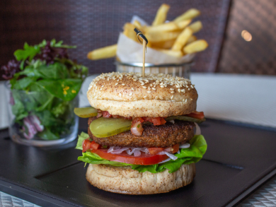 The Foundry is the first Abu Dhabi steakhouse to serve the Beyond burger