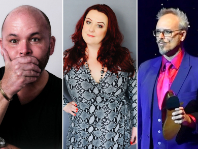 Big Fish Comedy is bringing three hilarious acts to the UAE