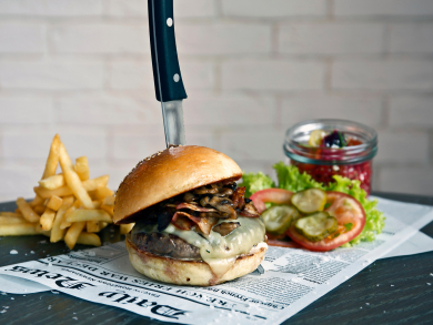 Brilliant burgers to try in Abu Dhabi for Dhs60 or less