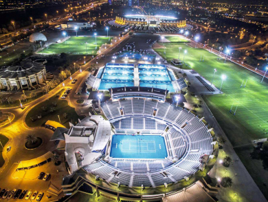 Where you can hire a pitch and play football in Abu Dhabi