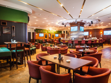 Abu Dhabi's Victor's is offering two free drinks and mixed drinks for Dhs3 tonight