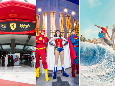 Get into Yas Island theme parks for Dhs100 with Abu Dhabi Showdown Week concert tickets