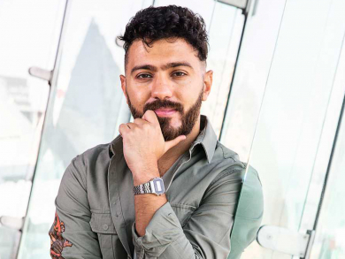 Saif and Sound is ready to show why he's the best DJ in Abu Dhabi