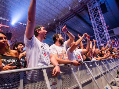 In pictures: Were you in the crowd for the Red Hot Chili Peppers' Abu Dhabi gig?
