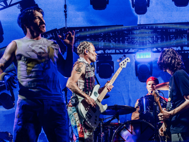 In pictures: Red Hot Chilli Peppers live in Abu Dhabi